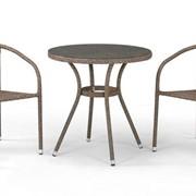 Комплект плетеной мебели из искусственного ротанга Карлин фото