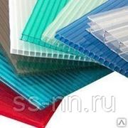 Поликарбонат «ПОЛИПЛАСТ» (цветной10 мм) 2,1м х 12м фото