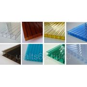 Поликарбонат прозрачный Carboglass 2100х6000х10 лист фото