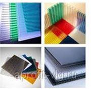 Сотовый поликарбонат 8мм цветной 2,10х12,00 OCTECO line фото