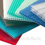 Сотовый поликарбонат Sellex 4х2100х6000 мм. прозрачный плотность 0,6 кг/м. кв. фото