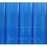 Сотовый поликарбонат Novattro (синий),толщ. 4мм, 2,1*12м фото