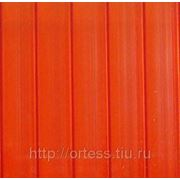 Сотовый поликарбонат Novattro (красный), толщ. 4мм, 2,1*12м фото