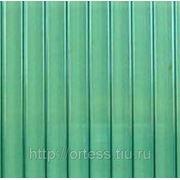 Сотовый поликарбонат Novattro (зеленый), толщ. 4мм, 2,1*12м фото