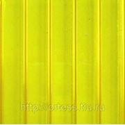Сотовый поликарбонат Novattro (желтый), толщ. 4мм, 2,1*12м фотография