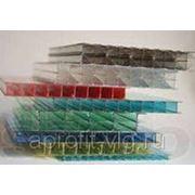 Сотовый поликарбонат 10мм прозрачный 2,10х12,00 OCTECO line фото