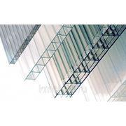 Сотовый поликарбонат POLYGAL практичный 8 мм, 2,10 х 6м фото