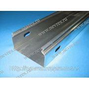 Лоток кабельный неперфорированный ЛГ 50х50 цинк фото