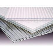 Сотовый поликарбонат прозр.10мм 12х2,1м