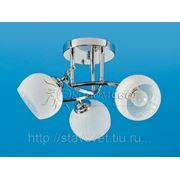 Светильник потолочный модерн 1782/3 CR WT фото