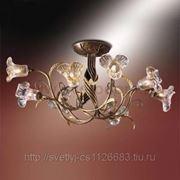 Люстра Odeon Light 1814/8 коричневый Aura фото