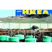 Автономная канализация коттеджного поселка фото