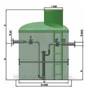 Однокорпусная установка для обеззараживания стоков ультрафиолетом 40 л/с фото