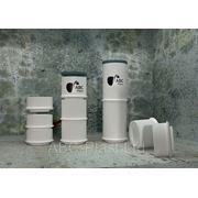 Горловины 300, 500, 1000 мм для накопительных емкостей и колодцев фото