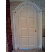 Двери из массива ценных пород древесины фото