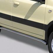 Боковые подножки Fiat Panda 2007-up фото