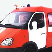 Автомобиль штабной АШ-5 на шасси ГАЗ-3221 фото