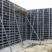 Опалубка (стеновая, перекрытия) фото