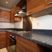 Изготовление встроенной кухонной мебели и техники на заказ фото