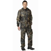 Костюм Рыболов зимний (куртка, брюки) (ткань Алова) КМФ Серый лес фото