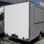 Одноосные торговые прицепы фургоны_Ильяска 7129. фото