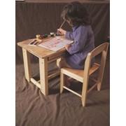 Подарочный набор для ребёнка - столик + стульчик фото