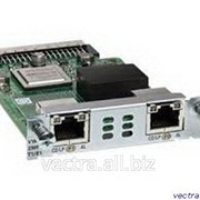 Модуль Cisco 2-Port 3rd Gen Multiflex Trunk Voice/WAN Int. Card - T1/E1 (VWIC3-2MFT-T1/E1=) фото