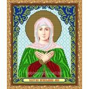 """Рисунок на ткани для вышивания бисером """"Св. Лилия"""" VIA4092 фото"""