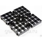 Решетка газонная автокомпонент (Аutocomponent) 500х500х50 мм фото