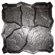 Формы для производства тротуарной плитки «Природный камень» фото