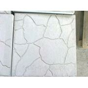 Тротуарная плитка Тучка 300x300x30 мм(серая) фото
