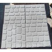Плита тротуарная фактурная 500*500*65 фото
