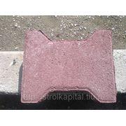 Тротуарная плитка «Катушка» 195х160х70мм фото