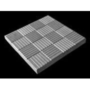 Тротуарная плитка 3К3 «Паркет» серый 300х300х30мм фото