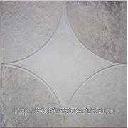 Тротуарная плитка 300х300х30 «Звезда» цв. серый фото