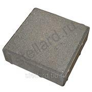 Тротуарная плитка Квадрат 200х200х60 серый в Ступино фото