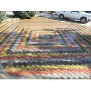 Тротуарная плитка «Брусчатка», толщиной 3см, 4см, 6см фото