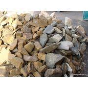 Камень бутовый песчаник фото