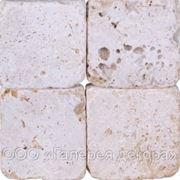 Траввертин, брусчатка, тратуарная плитка из травертина фото