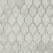 Плитка тротуарная в Краснодаре «Рокко», серая, толщина 30мм. фото