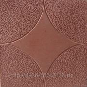 Тротуарная плитка «Звезда» 300х300х30 КР. фото