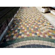 Тротуарная плитка 4см фото