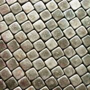 Брусчатка (песчаник) серо-зеленый галтовка фото