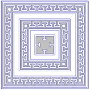 """Плитка тротуарная """"Орнамент"""" 500х500х60 серая/цветная+обмер, расчет (бесплатно)+укладка (по желанию) фото"""