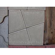 Плитка тротуарная «Трапеция» без вставки фото