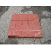 Плитка тротуарная полимер-песчаная 330х330мм фото