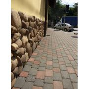 Тротуарная плитка и бордюры фото