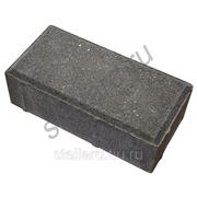 Тротуарная плитка Брусчатка 200х100х60 ЭДД1.6 серая в Ступино фото