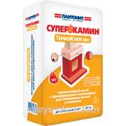 Плитонит СуперКамин ТермоКлей (ВТ) - термостойкий клей для печей и каминов фото