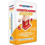 Плитонит СуперКамин ТермоКлей для облицовки печей и каминов фото